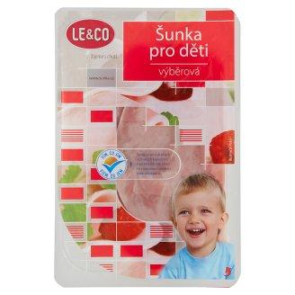 Le & Co Šunka pre deti krájaná 100 g