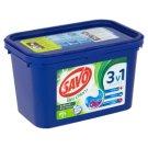 Savo Bez chlóru na farebné aj biele oblečenie gélové kapsuly na pranie 17 praní 459 g