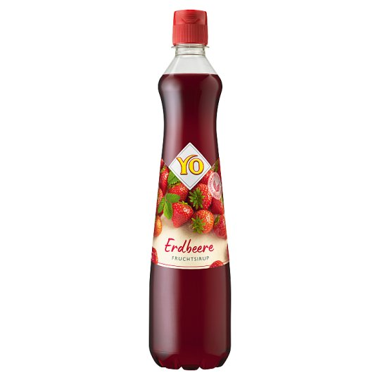 YO Fruit Syrup from Strawberry 0.7 L