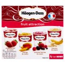 Häagen-Dazs Fruit Attraction Ice Cream 4 x 100 ml