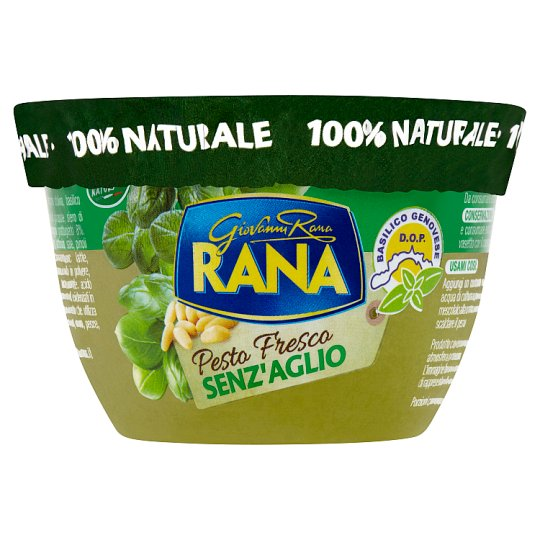 Rana Basil Pesto with Pine Nuts 140 g