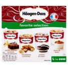 Häagen-Dazs Favorite Selection Ice Cream 4 x 100 ml