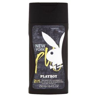 Playboy New York 2 v 1 sprchový gél a šampón 250 ml