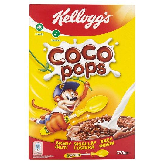 Kellogg's Coco Pops chrumkavá pražená ryža s kakaom 375 g