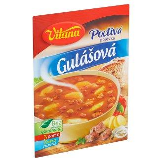 Vitana Poctivá gulášová polievka 101 g