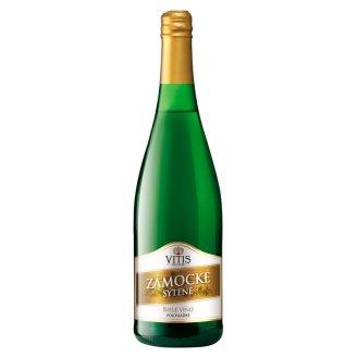 Vitis Pezinok Zámocké sýtené perlivé víno biele polosladké 0,75 l