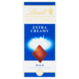 Lindt Excellence Extra jemná mliečna čokoláda 100 g