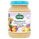 Ovko Dojčenská výživa banánová s jablkami a jogurtom 190 g