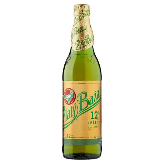 Zlatý Bažant 12% Light Lager Beer 500 ml