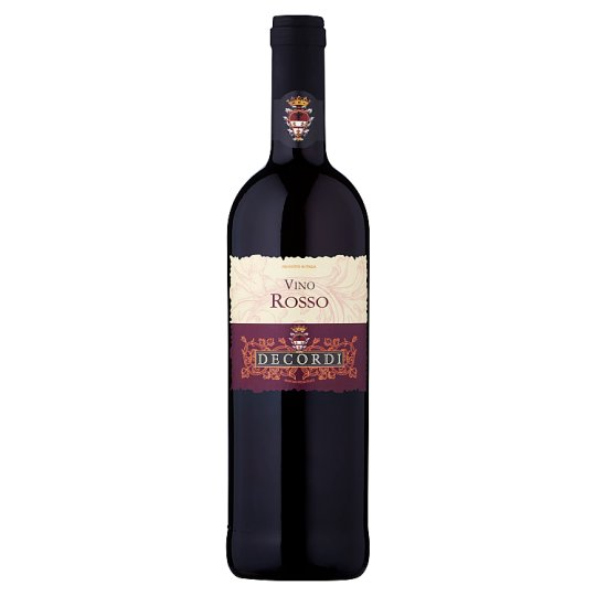 Decordi Vino Rosso Dry Red Wine 750 ml
