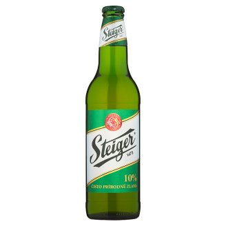 Steiger 10 % Light Draft Beer 0.5 L
