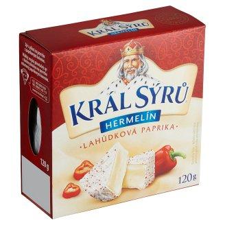 Král Sýrů Hermelín s červenou paprikou 120 g
