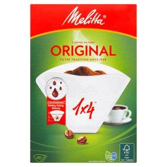 Melitta Original 1x4 Coffee Filters 40 pcs