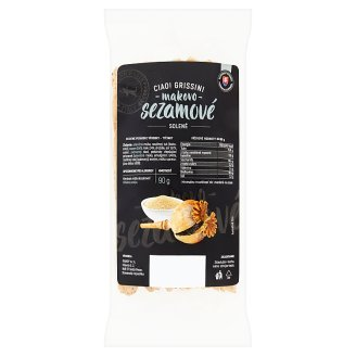Ciao Grissini Poppy-Sesame Salted 90 g