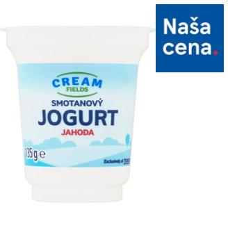 Cream Fields Smotanový jogurt jahoda 135 g