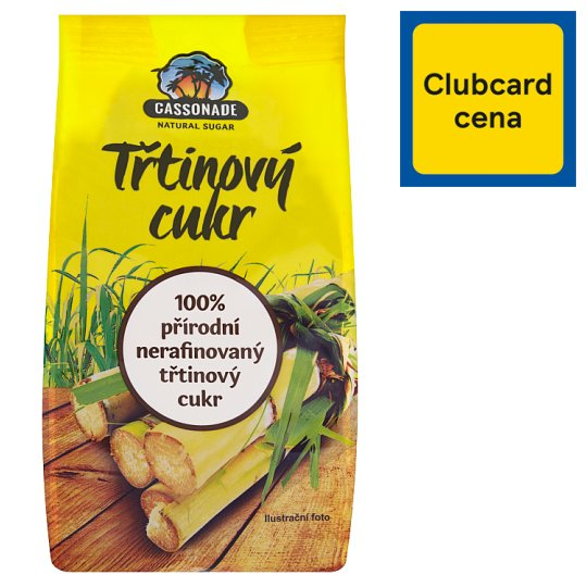 Cassonade Trstinový cukor 500 g