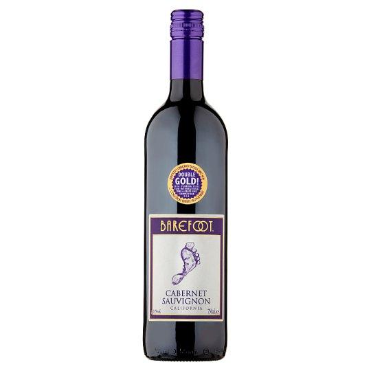 Barefoot Cabernet Sauvignon červené víno polosuché 750 ml