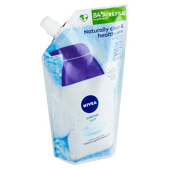 Nivea Creme Soft Liquid Soap Refill 500 ml