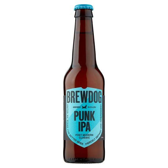 BrewDog Punk IPA Upper Fermented Light Beer 0.33 L