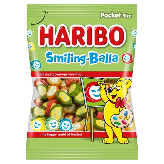 Haribo Smiling balla želé s ovocnými príchuťami 100 g