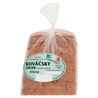 Bageta Blacksmith Whole Wheat Bread Sliced 360 g