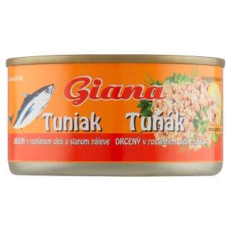 Giana Tuniak drvený v rastlinnom oleji 185 g