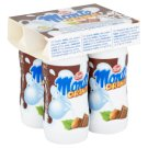 Zott Monte Milk Drinks Flavoured with Chocolate and Hazelnuts 4 x 95 ml