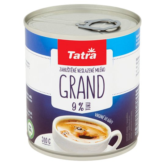 Tatra Grand Unsweetened Condensed Whole Milk 310 g