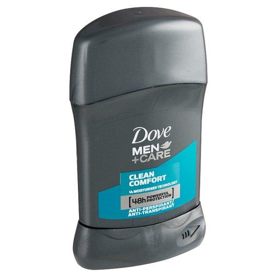 Dove Men+Care Clean Comfort tuhý antiperspirant pre mužov 50 ml