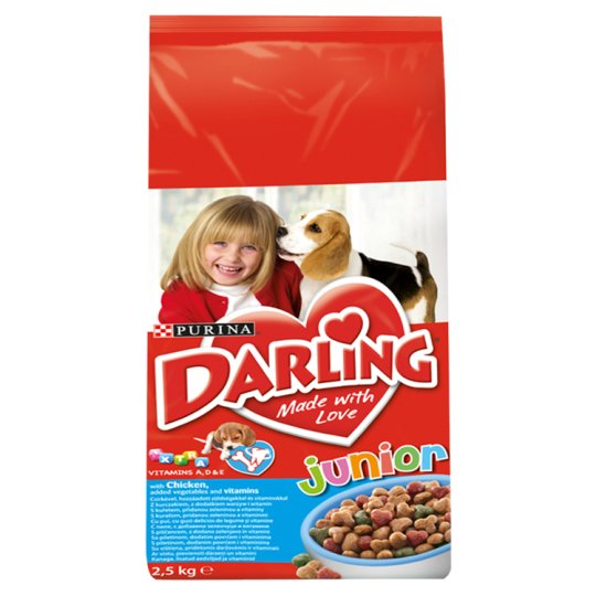 DARLING Junior with Chicken, Added Vegetables and Vitamins 2.5 kg