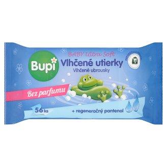Bupi Baby Ultra soft vlhčené utierky s pantenolom 64 ks