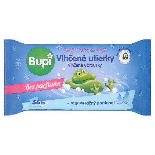 Bupi Baby Ultra Soft vlhčené utierky 56 ks