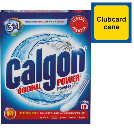 Calgon 3 v 1 Power prášok 10 praní 500 g