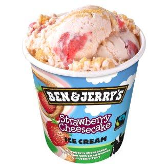 Ben & Jerry's Cheesecake Strawberry Ice Cream 500 ml