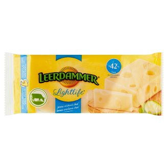 Leerdammer Lightlife Semi-Hard Ripened Semi-Fat Cheese 170 g