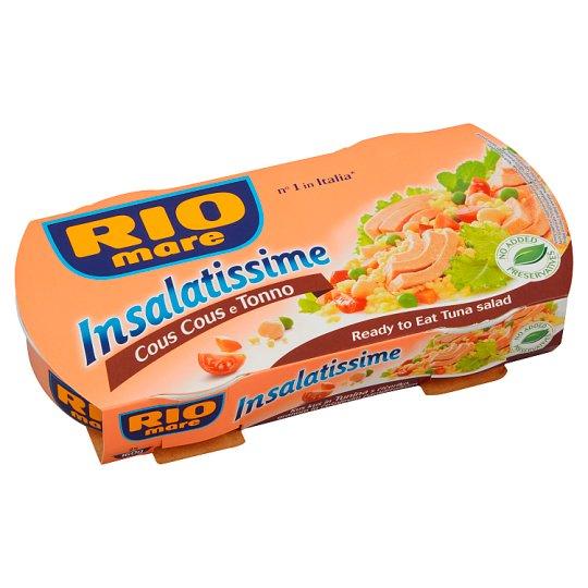 Rio Mare Insalatissime Hotové jedlo z kuskusu, zeleniny a tuniaka 2 x 160 g