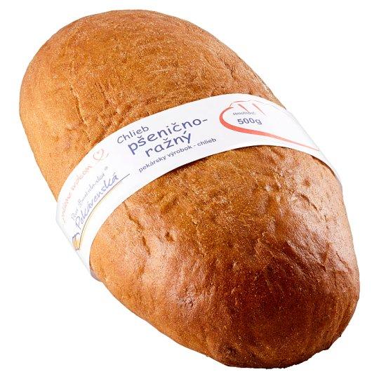 Prvá Bratislavská Pekárenská Chlieb pšenično-ražný 500 g