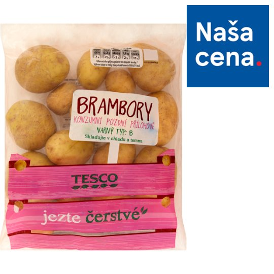 Tesco Potatoes Washed Cooking Type B 2 kg