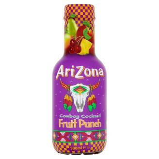 Arizona Cowboy Cocktail Fruit Punch ovocný nápoj 500 ml