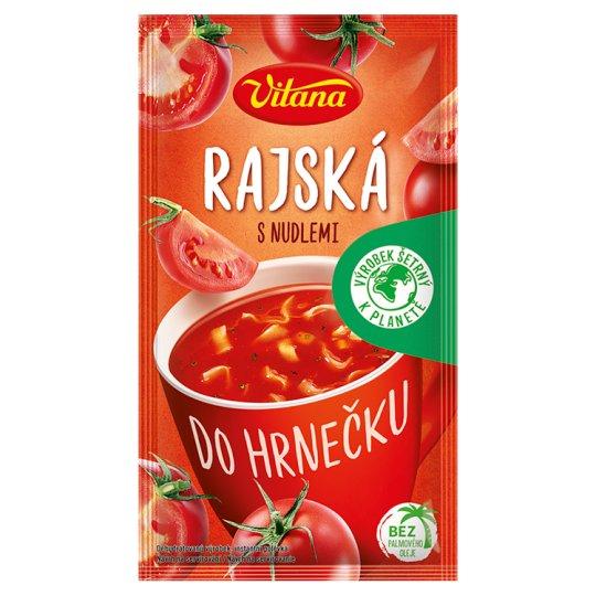 Vitana Do hrnečku Instant Tomato Soup Mix with Noodles 22 g