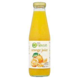 Tesco Organic Orange Juice 500 ml