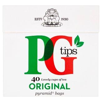 PG Tips Čierny čaj porciovaný 40 vrecúšok 116 g