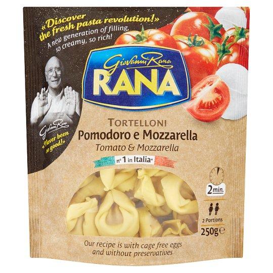 Rana Tortellini čerstvé vaječné cestoviny s paradajkovo - mozarelovou plnkou 250 g