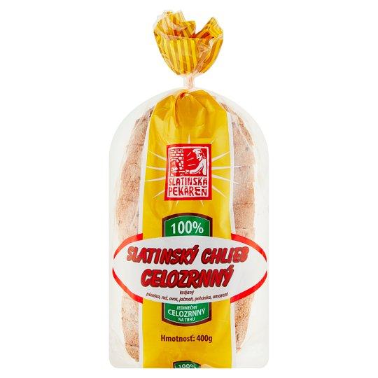 Slatinská Pekáreň Slatinský chlieb celozrnný 400 g