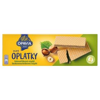 Opavia Zlaté Wafers with Hazelnut Filling 146 g