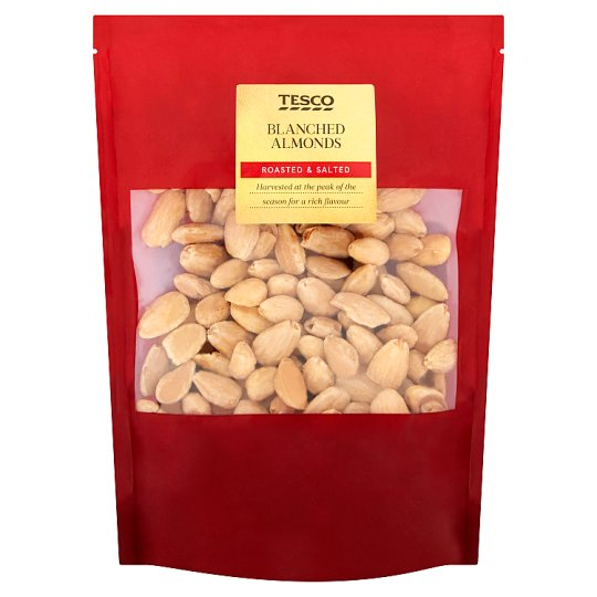 Tesco Blanched Almonds Roasted Salted 200 g