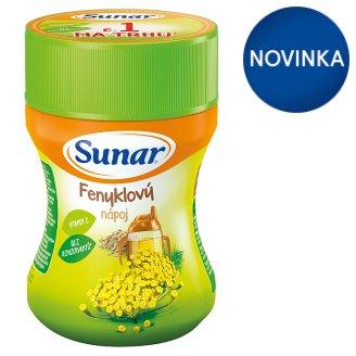 Sunárek Detský rozpustný nápoj feniklový v prášku 200 g