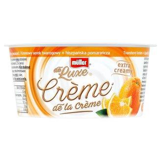 Müller de Luxe Crème de la Crème tvarohový krém + španielsky pomaranč 135 g