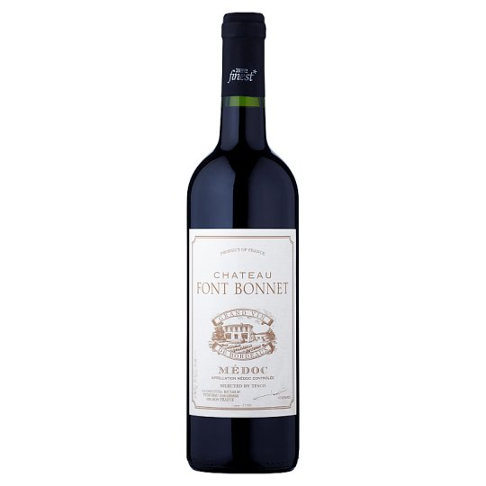 Tesco Finest Chateau Font Bonnet Red Wine 0.75 L