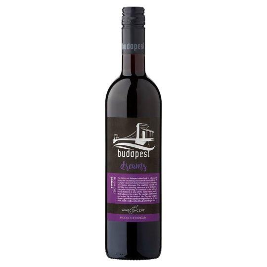 Wine Concept Budapest Dreams Medina z horného Maďarska sladké červené víno 0,75 l